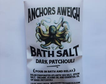 Bath Salt Anchors Aweigh Dark Patchouli