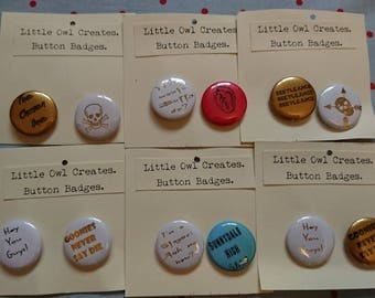 Button badge: Lucky Dip