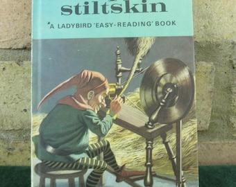 Vintage Ladybird book well loved tales Rumpelstiltskin series 606D price 30p
