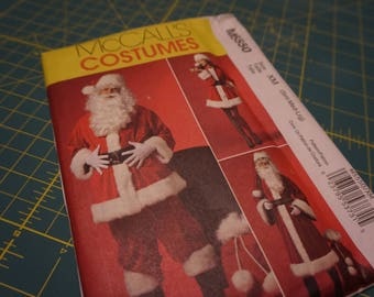 Santa Claus & Mrs. Claus Size XM (Sm, Med, Lrg) - McCall's Costumes 5550 NIP