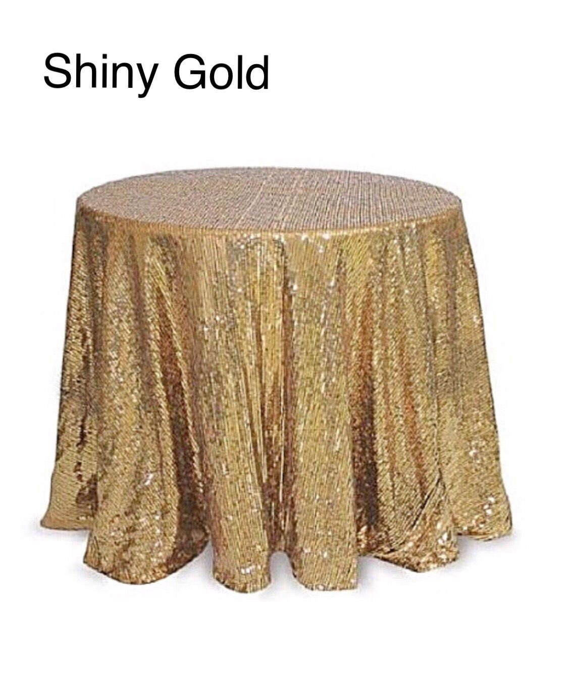 Gold Sequin Tablecloth, Table Runner, Table Overlay. Wedding Tablecloth,  Cake Table, Baby Shower, Sequence, Wedding Decorations, Party