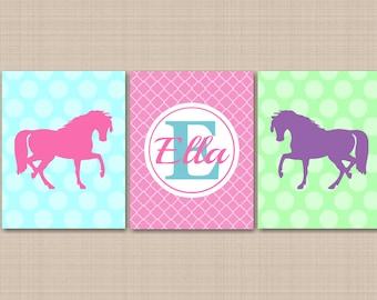 Wall Art Horses horse wall art | etsy