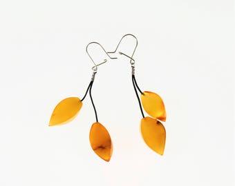 Natural Baltic amber earrings 7,5g