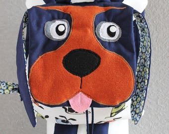 "Backpack ""Teddy bear friend"" child's nursery, nursery, out..."