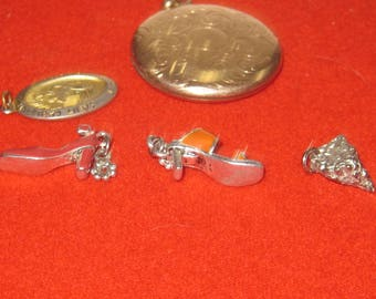 R- 42  Vintage  Pendants 1 are 925 silver the others are not 925