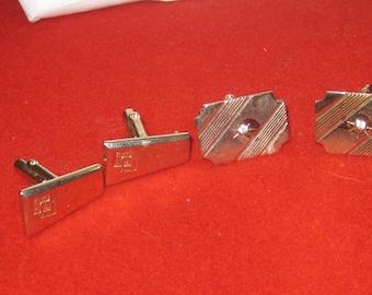 R- 65 Vintage cuff links