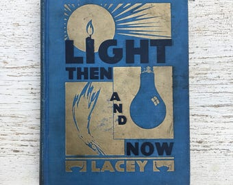 free domestic shipping--Light Then and Now Ida Belle Lacey 1931