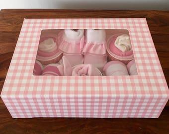 Cutie pie Cupcake & sockie box