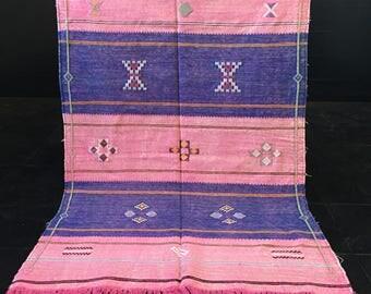 Sabra Kilim Carpet - moroccan rug