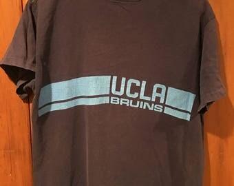 Vintage UCLA Bruins Men's Medium 70s 80s University California Los Angeles Sports College T Shirt Football Basketball
