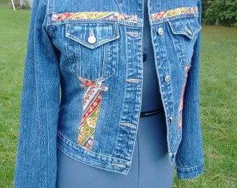 Upcycled Steve Madden Denim Jacket