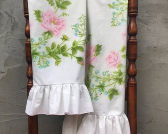Vintage Floral Pillowcase Set
