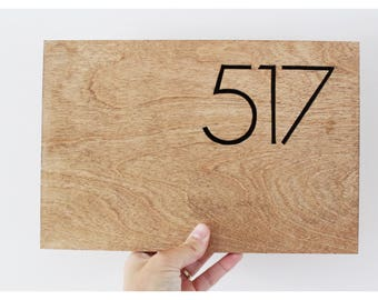 Modern House Numbers, Modern House Number Plaque, Modern House Number Sign, Modern House Numbers Vertical, Modern House Sign