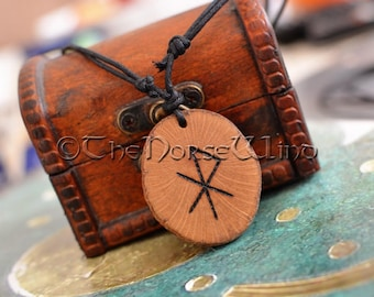 Love Talisman Viking Amulet Rune Necklace Attract Love Bindrune Necklace Magic Talisman Futhark Runes Asatru Norse Mythology Wicca Pagan