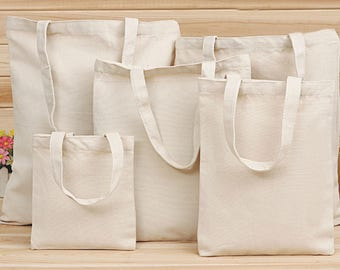 Custom logo bags 100% Organic Natural Cotton Canvas bag reusable shopping bags canvas tote bag   -wzmj1