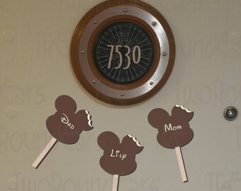 Personalized Mickey Ice Cream Bar Magnets