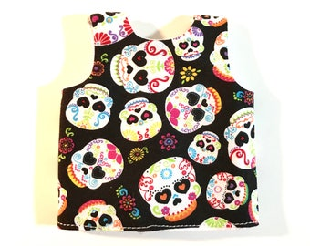 Adorable Vest with Velcro Closure and Flannel Lining