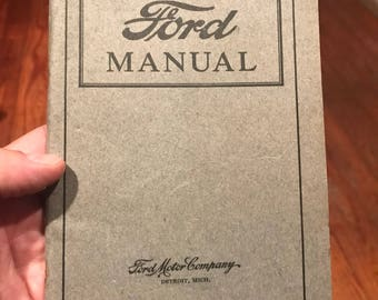 1922 Ford Manual . Antique ford manual . Vintage ford manual . Vintage ford . Antique ford