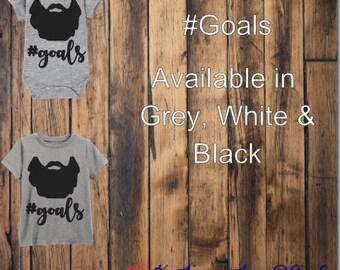 Kids Goals Onesie & T-Shirt