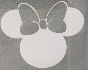 Minnie Mouse Vinyl Sticker