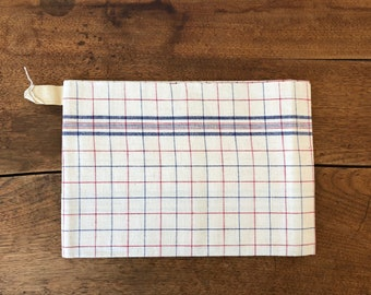 New French Linen Tea Towel from the '50s