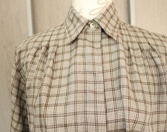 Shirt flannel Guy Laroche, Paris