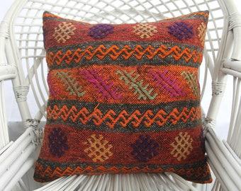 pink pillow green pillow boho pillow ethnic sham 20x20 turkish. Black Bedroom Furniture Sets. Home Design Ideas