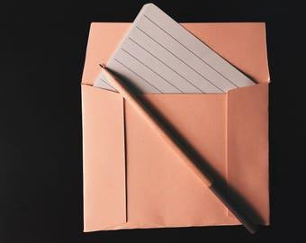 Pack of 5 Light Pink Envelopes