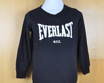 Vintage Sweater Everlast New York Black Color Swetashirt Nice Design