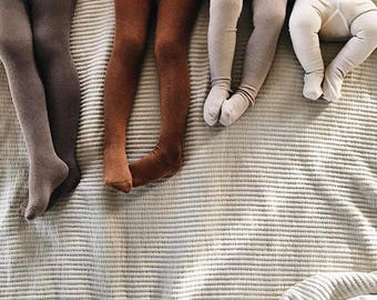 Organic Solid Neutral Tights
