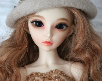 Hat for BJD dolls iplehause 1/6, Handmade
