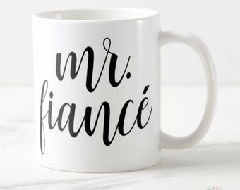 Engagement Gift for Him, Fiance Gift for Him, Fiance Mug, Fiance Birthday Gift, Gifts for Fiance, Engagement Present for Him, Fiance Cup