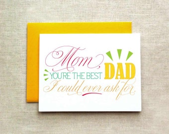 Father's Day Card for Mom, Father's Day Card, Reverse Father's Day Card, Card for Mom, Father's Day