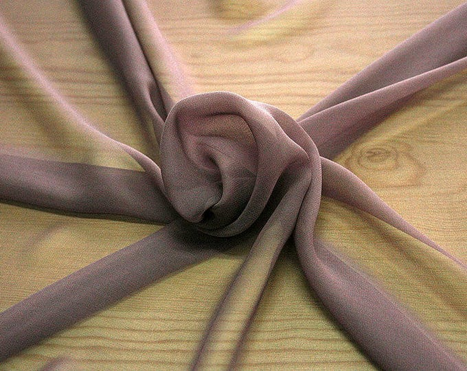 316021-natural Silk Georgette 100%, width 135/140 cm, made in Italy, dry cleaning, weight 50 gr