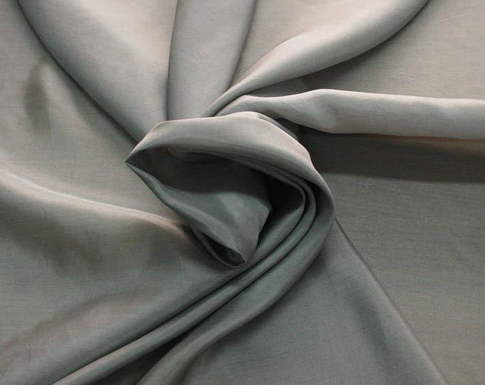 402186-taffeta natural silk 100%, width 110 cm, made in India, can be used liner, dry wash, weight 58 gr