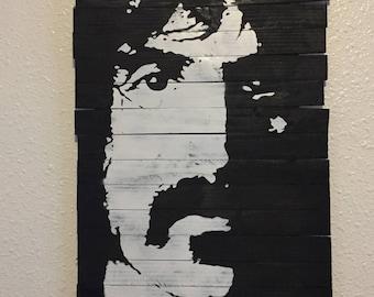 Phi Zappa Krappa Frank Zappa Wooden Plaque