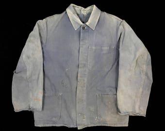 1950s-60s German Chore Coat.