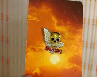 Vintage Deadstock 'Easy Riders' Skull Pin