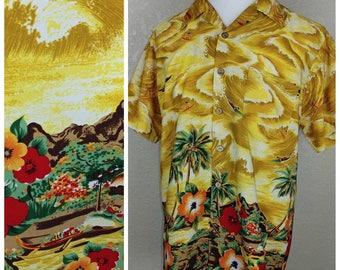 Vintage Hawaiian Shirt by Kennington California