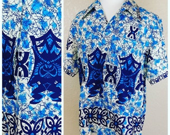 Fantastic Deadstock with Tags Vintage Tiki Shirt