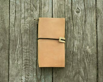 Leather notebook - Refillable notebook - leather notepad - leather journal - notebook cover - leather diary - refillable journal