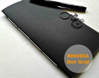 Rhodia Paper Dot Grid Traveler's Notebook Insert - Rhodia Paper Midori Insert - Midori Refill - TN Notebook Insert - N309