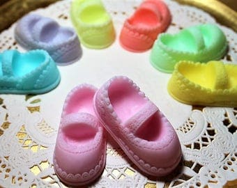 Baby Booties Soap (5+), Novelty Favor Soap, Baby Booties Favor Soaps, 1st Birtday Favors, Baby Shower Favor Soap, Gender Reveal Party Favor