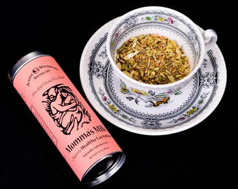 Momma's Milk Loose Leaf Herbal Tea for Healthy Lactation
