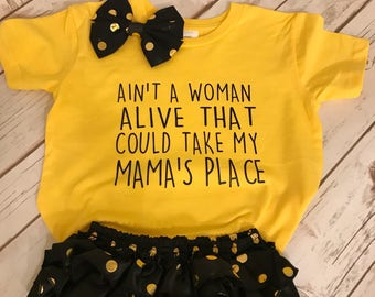 SALE! Ain't a woman alive that could take my mama's place Kids T-Shirt or Onesie