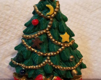 Christmas Pin, Christmas Tree Pin