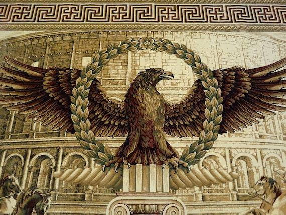 Aguila Imperial Romana De Plata Collares Collares
