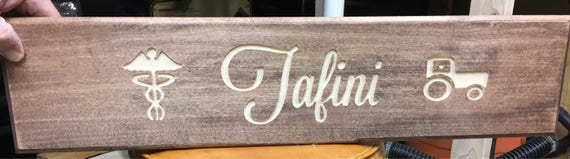 Customized Wood Sign