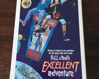 Bill & Ted's Excellent Adventure VHS