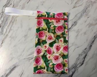 Lady cloth wetbag - menstural reusable cloth wet bag